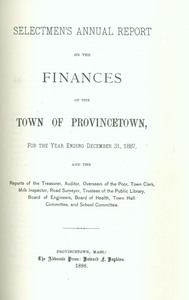 Annual Town Report - 1887