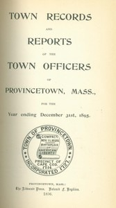 Annual Town Report - 1895