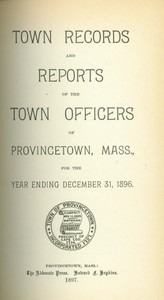 Annual Town Report - 1896
