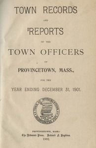 Annual Town Report - 1901