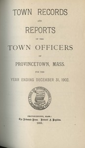 Annual Town Report - 1902
