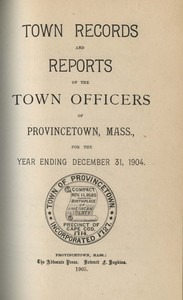 Annual Town Report - 1904