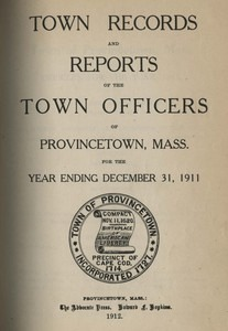 Annual Town Report - 1911