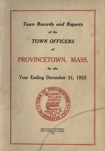Annual Town Report - 1925