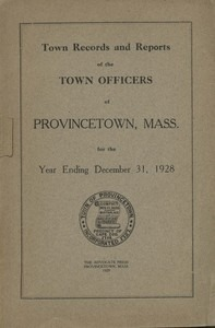 Annual Town Report - 1928