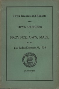 Annual Town Report - 1934
