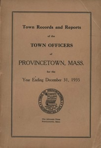 Annual Town Report - 1935