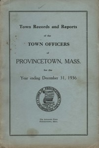 Annual Town Report - 1936