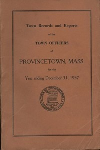 Annual Town Report - 1937