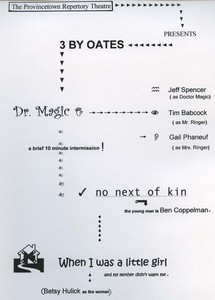 """Dr. Magic"", ""No Next of Kin"" and ""When I Was a Little Girl"""