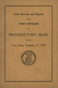 Annual Town Report - 1938
