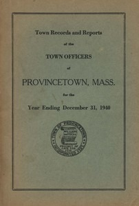 Annual Town Report - 1940