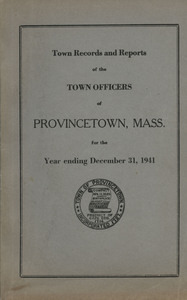 Annual Town Report - 1941