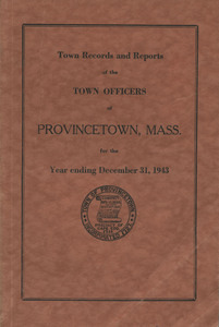 Annual Town Report - 1943