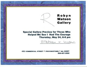 Robyn Watson Gallery Preview