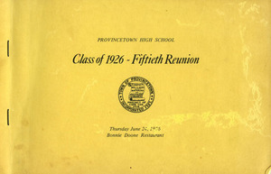 Class of 1926 - Fiftieth Reunion
