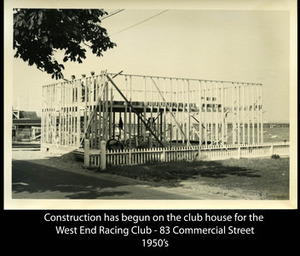 West End Racing Club - Early days at 83 Commercial St.