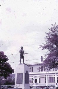Doughboy Statue and Environs - 1951