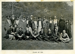 Class of 1924 Group Photograph