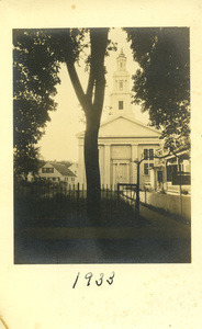 Unitarian Universalist Meeting House Photograph 1933