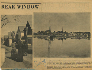 Rear Window (Cape Codder) - photos from the I.L. Rosenthal Collection