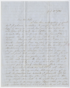 Felicia Emerson letter to Elizabeth Fisher, 1846 July 17