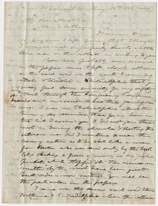 Edward Hitchcock letter to Mary Hitchcock and Catharine H. Storrs, 1844 May 12
