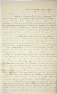 Edward Hitchcock letter to Sir Roderick Impey Murchison, 1842 September 5