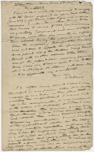 Edward Hitchcock excerpt of letter to Governor William L. Marcy, 1836 June 9