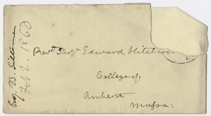 Benjamin Silliman letter to Edward Hitchcock, 1860 February 2