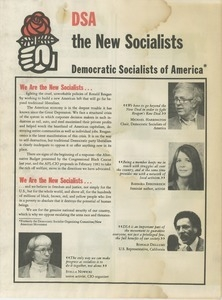 DSA the new socialists