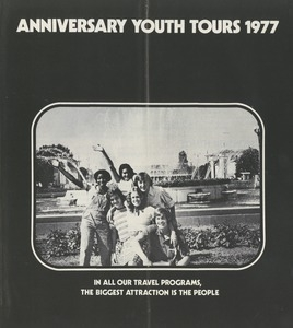 Anniversary youth tours 1977