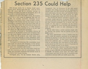 Section 235 could help