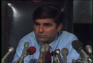 Dukakis after primary defeat