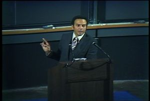 Andrew Young at Harvard