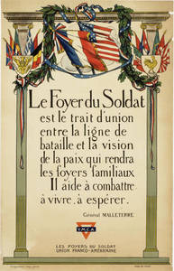 World War I Poster: Le trait d'union