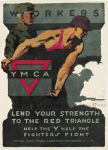World War I Poster - Lend Your Strength