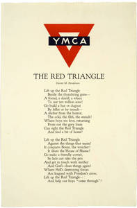 World War I Poster - The Red Triangle
