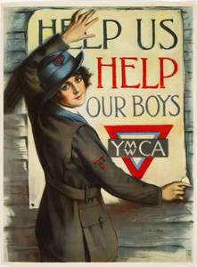World War I Poster - Help Us Help Our Boys