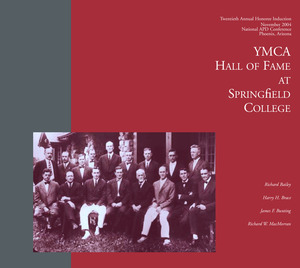 The 2004 YMCA Hall of Fame Induction Program