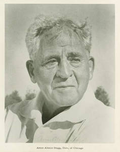Amos Alonzo Stagg Portrait