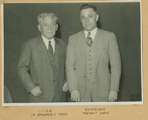 Amos Alonzo Stagg and John L. Rothacher