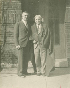 Amos Alonzo Stagg and Martin I. Foss (1933)