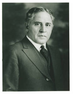 Amos Alonzo Stagg Formal Portrait