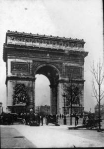Arc de Triomphe, Paris (1915-1919?)
