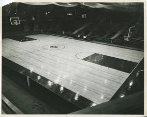 The Basketball Court in the Memorial Field House