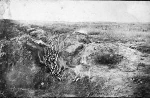 German Support Trenches at Villers-Bretonneux (Aug 18, 1918)