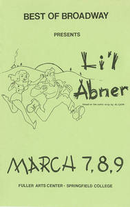 Best of Broadway: Li'l Abner program, 1985
