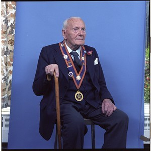 John Bryans, Orange Order leader, 100th birthday