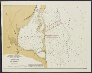 Plan of East Bay at Osterville in the town of Barnstable